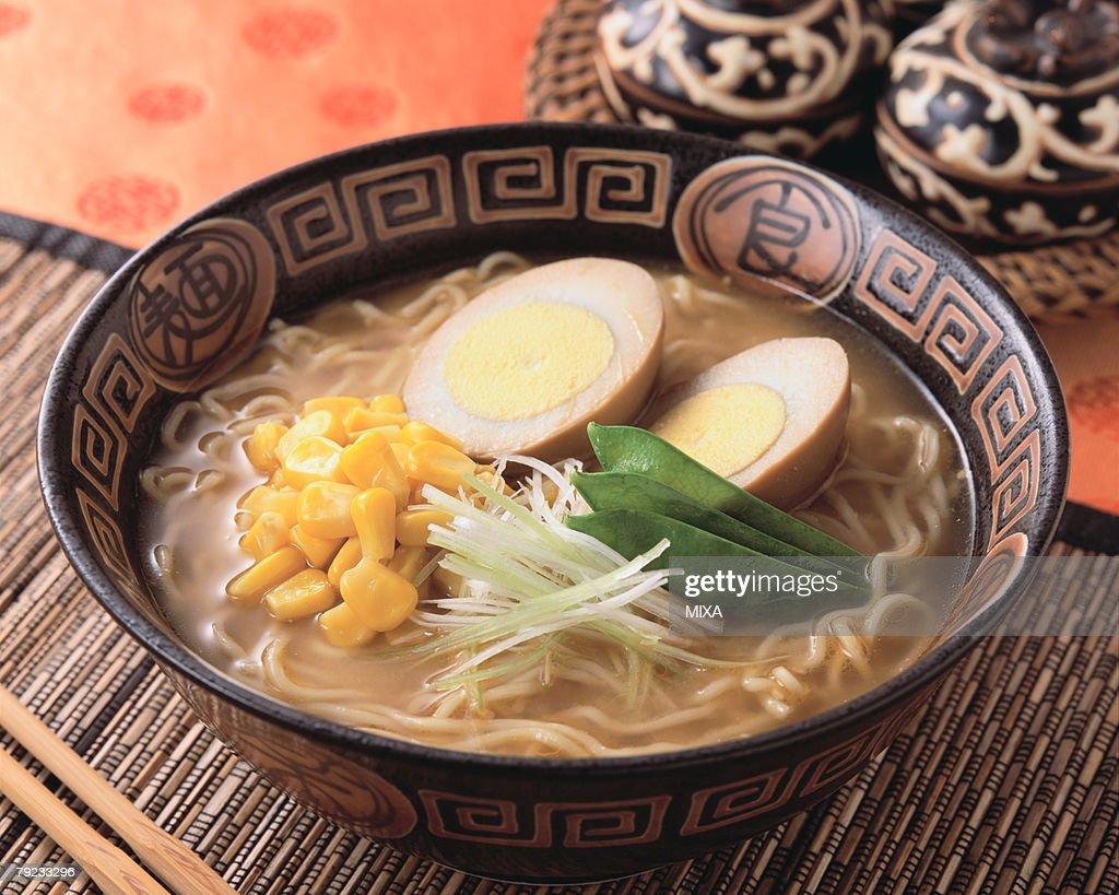 Noodle Soup : Stock Photo