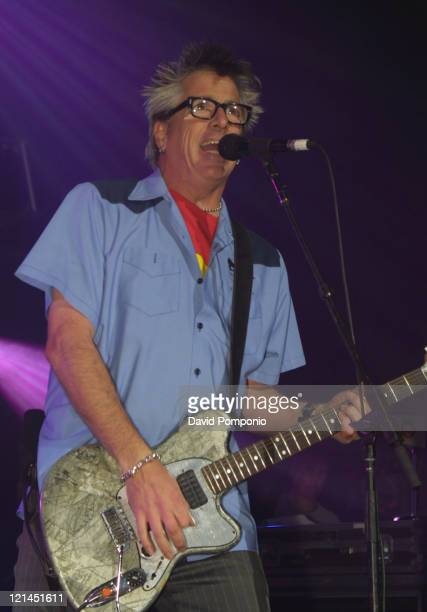 Noodles of The Offspring during KRock ClausFest 2003 Day Two at Hammerstein Ballroom in New York City New York United States
