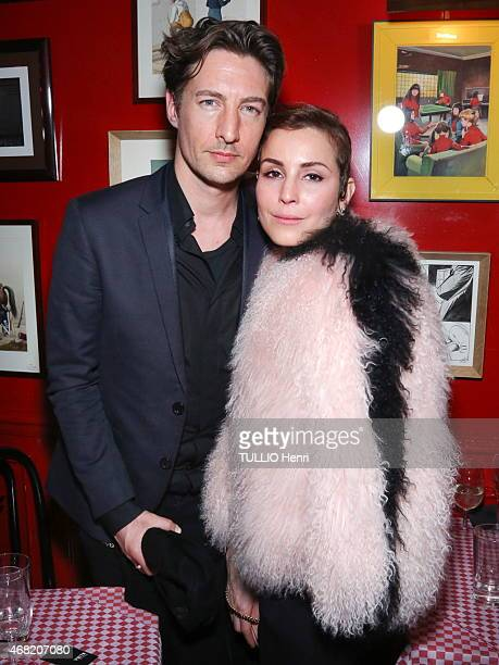Noomi Rapace and Benn Northover attend the Evening gala at the Fendi's shop in Paris for the promotion of the new sun glasses collection designed by...