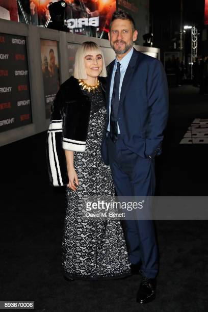 Noomi Rapace and David Ayer attend the European Premeire of 'Bright' held at BFI Southbank on December 15 2017 in London England