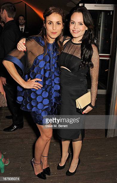 Noomi Rapace and Duffy attend Gabrielle's Gala 2013 supported by Lorraine Schwartz at Battersea Power Station on May 2 2013 in London England