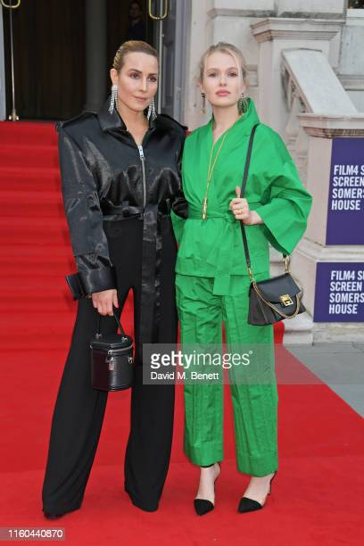 Noomi Rapace and Vala Hrafnkelsdottir attend the opening night of Film4 Summer Screen at Somerset House featuring the UK Premiere of Pain And Glory...