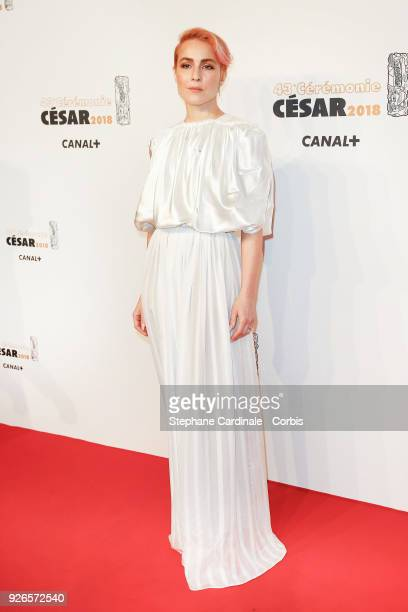 Noomi Rapace arrives at the Cesar Film Awards 2018 at Salle Pleyel at Le Fouquet's on March 2 2018 in Paris France