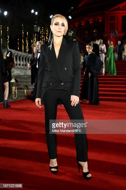 Noomi Rapace arrives at The Fashion Awards 2018 In Partnership With Swarovski at Royal Albert Hall on December 10 2018 in London England