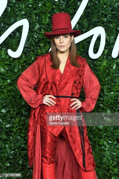 Noomi Rapace arrives at The Fashion Awards 2019 held at Royal Albert Hall on December 02, 2019 in London, England.