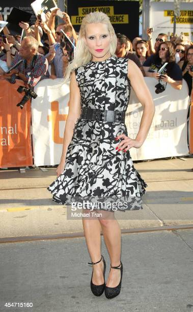 Noomi Rapace arrives at the premiere of The Drop held during the 2014 Toronto International Film Festival Day 2 on September 5 2014 in Toronto Canada