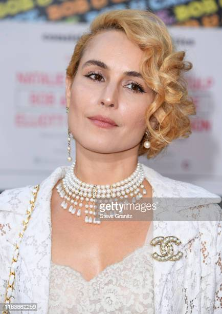 Noomi Rapace arrives at the Sony Pictures' Once Upon A TimeIn Hollywood Los Angeles Premiere on July 22 2019 in Hollywood California