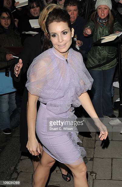 Noomi Rapace arrives for the Finch And Partners' PreBAFTA Party at Marks' Club on February 12 2011 in London England