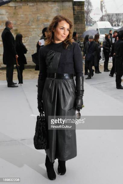 Noomi Rapace arrives to attend the Christian Dior Spring/Summer 2013 HauteCouture show as part of Paris Fashion Week at on January 21 2013 in Paris...