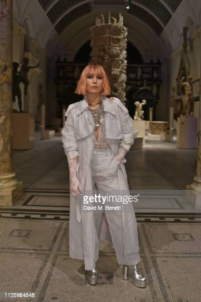 Noomi Rapace attends a gala dinner celebrating the opening of the Christian Dior Designer of Dreams exhibition at The VA on January 29 2019 in London...