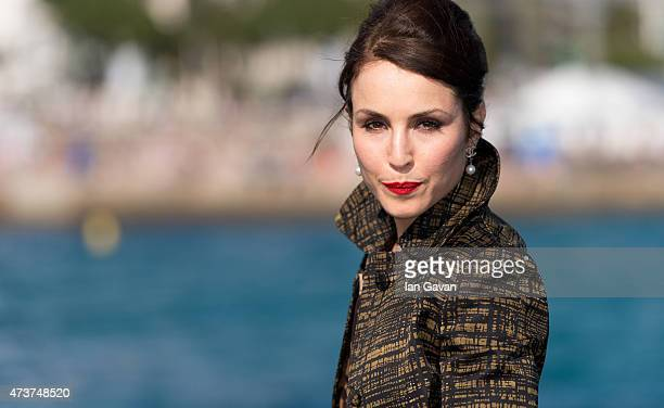 Noomi Rapace attends a photocall for 'Callas' during the 68th annual Cannes Film Festival on May 17 2015 in Cannes France