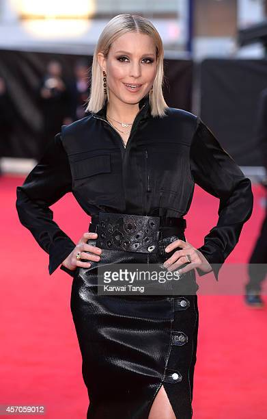 Noomi Rapace attends a screening of 'The Drop' during the 58th BFI London Film Festival at Odeon West End on October 11 2014 in London England