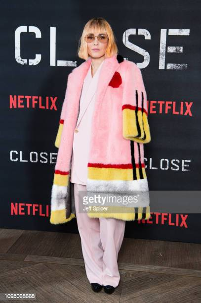 Noomi Rapace attends a special screening of Close at The Mayfair Hotel on January 16 2019 in London England