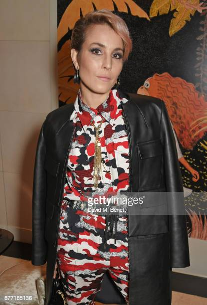 Noomi Rapace attends Louis Vuittons Celebration of GingerNutz in Vogue's December Issue on November 21 2017 in London England