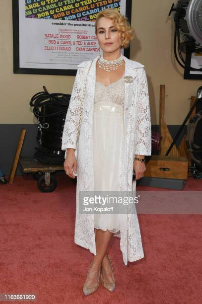 "Noomi Rapace attends Sony Pictures' ""Once Upon A Time...In Hollywood"" Los Angeles Premiere on July 22, 2019 in Hollywood, California."
