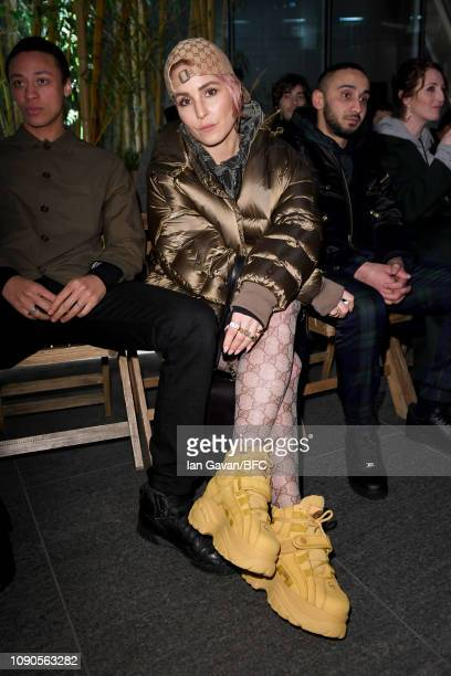 Noomi Rapace attends the Astrid Andersen show during London Fashion Week Men's January 2019 on January 06 2019 in London England