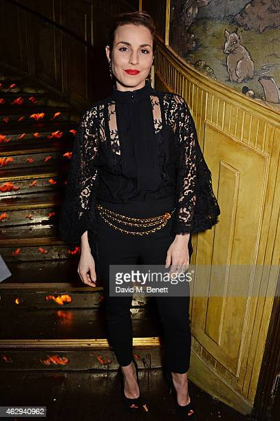 Noomi Rapace attends The Box 4th Birthday Party in partnership with Belvedere Vodka at The Box on February 7 2015 in London England