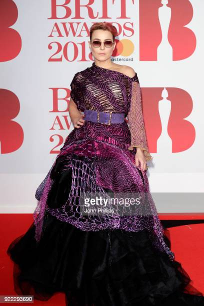 AWARDS 2018*** Noomi Rapace attends The BRIT Awards 2018 held at The O2 Arena on February 21 2018 in London England