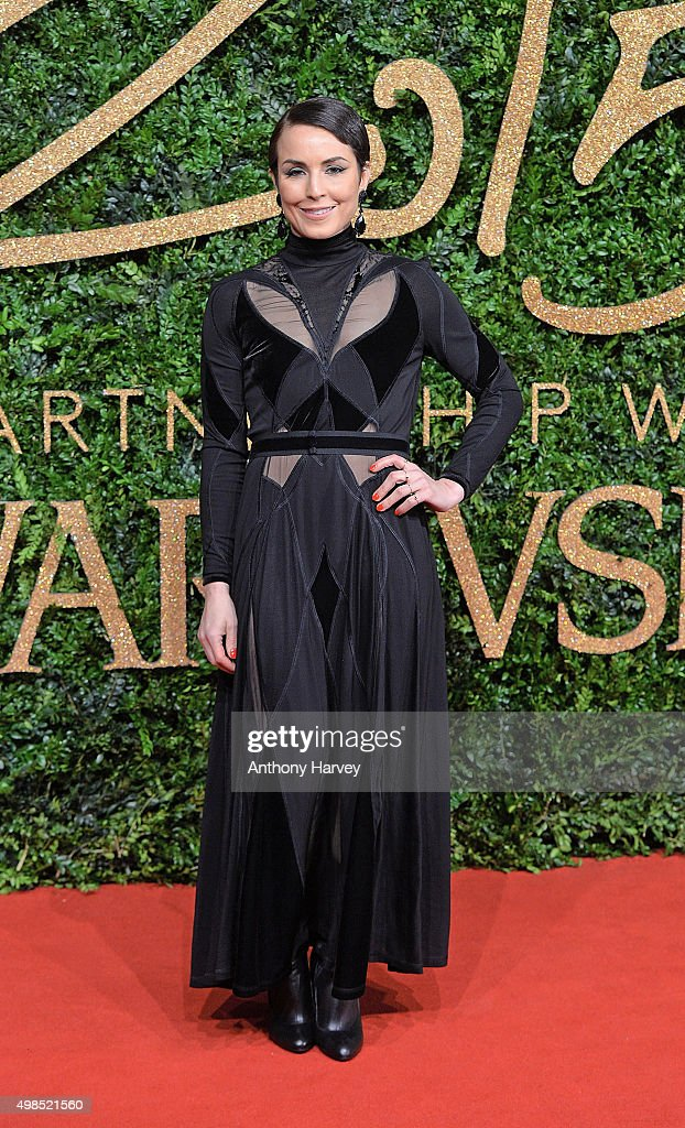 Noomi Rapace attends the British Fashion Awards 2015 at London Coliseum on November 23, 2015 in London, England.