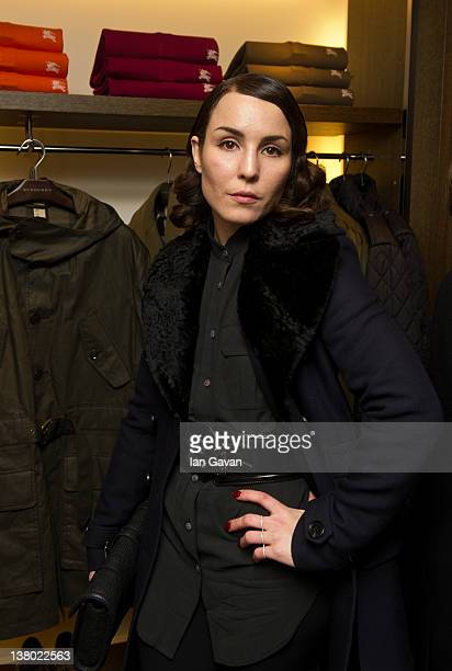Noomi Rapace attends the Burberry Store Launch on January 31 2012 in Stockholm Sweden