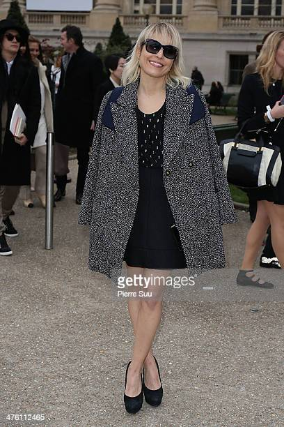 Noomi Rapace attends the Chloe show as part of the Paris Fashion Week Womenswear Fall/Winter 20142015 on March 2 2014 in Paris France