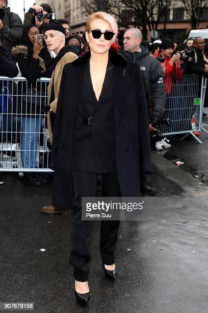Noomi Rapace attends the Dior Homme Menswear Fall/Winter 20182019 show as part of Paris Fashion Week on January 20 2018 in Paris France