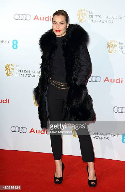 Noomi Rapace attends the EE British Academy Awards nominees party at Kensington Palace on February 7 2015 in London England