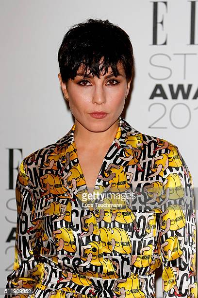 Noomi Rapace attends The Elle Style Awards 2016 on February 23 2016 in London England