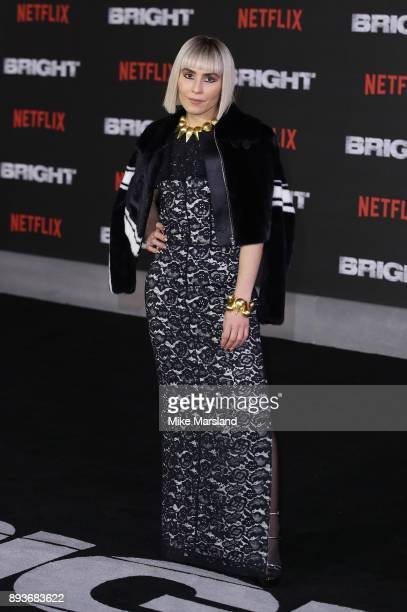 Noomi Rapace attends the European Premeire of 'Bright' held at BFI Southbank on December 15 2017 in London England
