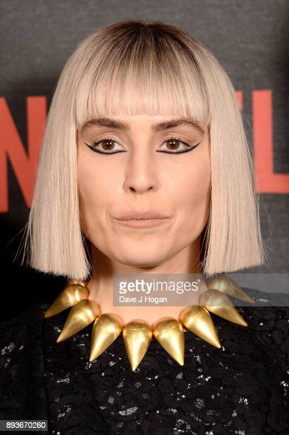 Noomi Rapace attends the European Premiere of 'Bright' held at BFI Southbank on December 15 2017 in London England
