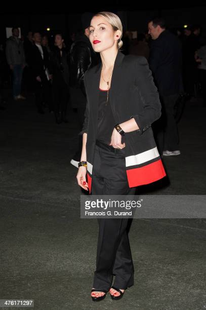 Noomi Rapace attends the Givenchy show as part of the Paris Fashion Week Womenswear Fall/Winter 20142015 on March 2 2014 in Paris France