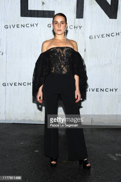 Noomi Rapace attends the Givenchy Womenswear Spring/Summer 2020 show as part of Paris Fashion Week on September 29, 2019 in Paris, France.