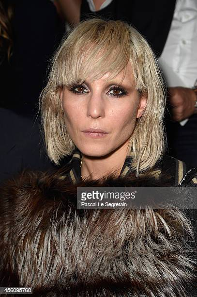Noomi Rapace attends the Lanvin show as part of the Paris Fashion Week Womenswear Spring/Summer 2015 on September 25 2014 in Paris France
