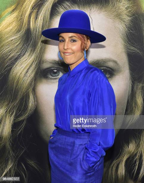Noomi Rapace attends the Los Angeles premiere of the HBO limited series 'Sharp Objects' at ArcLight Cinemas Cinerama Dome on June 26 2018 in...