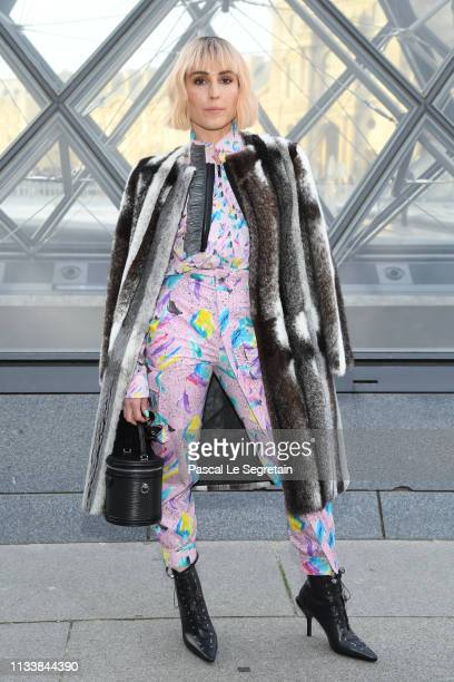 Noomi Rapace attends the Louis Vuitton show as part of the Paris Fashion Week Womenswear Fall/Winter 2019/2020 on March 05 2019 in Paris France