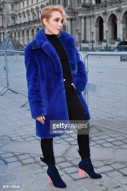 Noomi Rapace attends the Louis Vuitton show as part of the Paris Fashion Week Womenswear Fall/Winter 2018/2019 on March 6 2018 in Paris France