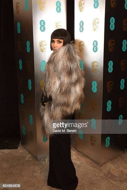Noomi Rapace attends the official after party dinner for the EE British Academy Film Awards at Grosvenor House on February 12 2017 in London England