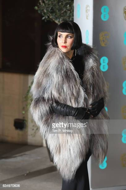 Noomi Rapace attends the official after party for the 70th EE British Academy Film Awards at The Grosvenor House Hotel on February 12 2017 in London...