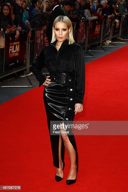 """Noomi Rapace attends the official screening of """"The Drop"""" during the BFI London Film Festival at Odeon West End on October 11, 2014 in London,..."""