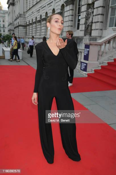 Noomi Rapace attends the opening night of Film4 Summer Screen at Somerset House featuring the UK Premiere of Pain And Glory on August 8 2019 in...