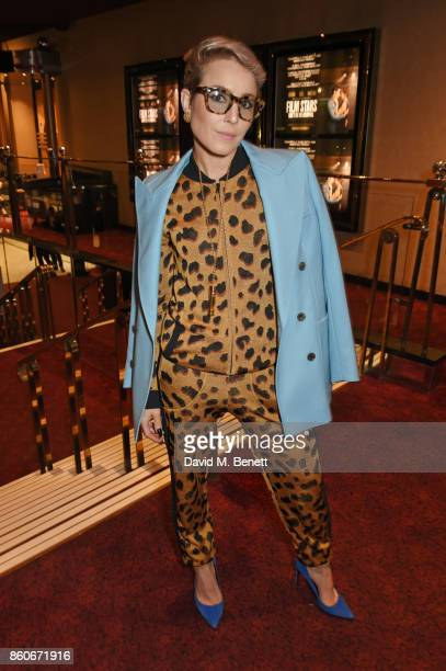 Noomi Rapace attends the PORTER Lionsgate UK screening of Film Stars Don't Die In Liverpool at Cineworld Leicester Square on October 12 2017 in...