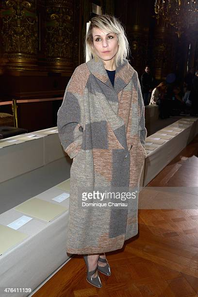 Noomi Rapace attends the Stella McCartney show as part of the Paris Fashion Week Womenswear Fall/Winter 20142015 on March 3 2014 in Paris France