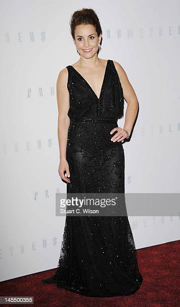 Noomi Rapace attends the world premiere of Prometheus at Empire Leicester Square on May 31 2012 in London England