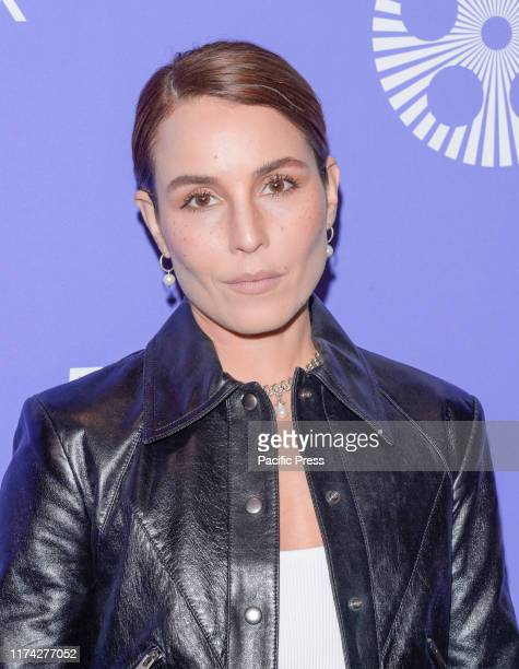 Noomi Rapace attends Wasp Network premiere during 57th New York Film Festival at Lincoln Center Alice Tully Hall