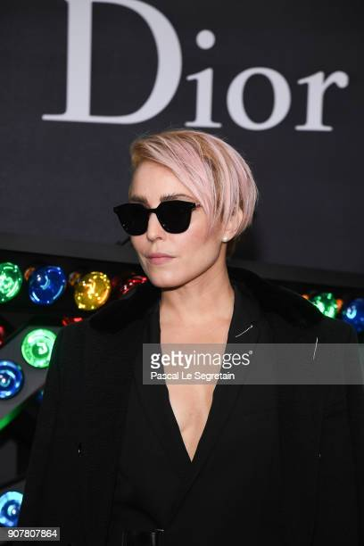 Noomi Rapace Dior Homme Menswear Fall/Winter 20182019 show as part of Paris Fashion Week at Grand Palais on January 20 2018 in Paris France