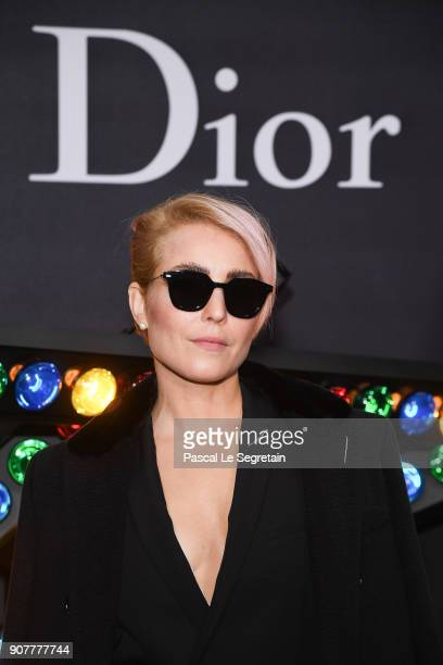 Noomi Rapace poses at Dior Homme Menswear Fall/Winter 20182019 show as part of Paris Fashion Week at Grand Palais on January 20 2018 in Paris France
