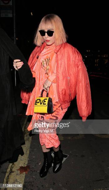 Noomi Rapace seen at the BAFTAs Vogue x Tiffany Fashion Film afterparty at Annabel's on February 10 2019 in London England