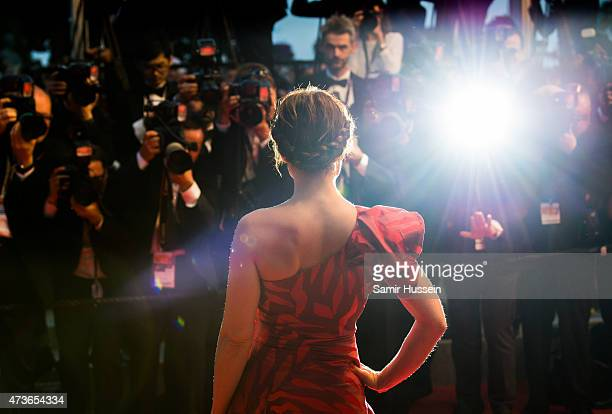 Noomi Rapace ttends 'The Sea Of Trees' Premiere during the 68th annual Cannes Film Festival on May 16 2015 in Cannes France