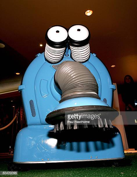 Noonoo attends the 'Teletubbies' Movie Premiere for 'Reel Moms' at Loews 34th Street Theatre March 15 2005 in New York City
