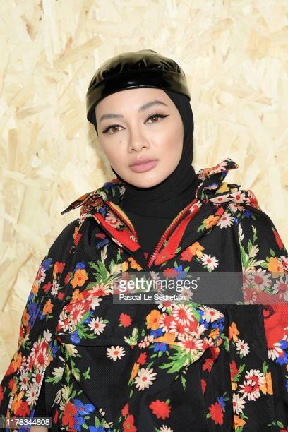 Noor Neelofa Mohd Noor attends the Miu Miu Womenswear Spring/Summer 2020 show as part of Paris Fashion Week on October 01 2019 in Paris France